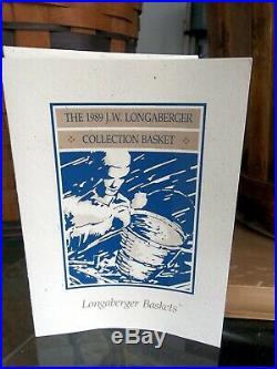 Longaberger Special National Award BASKET FORM & BASKET SET ONLY 1 Pls Read