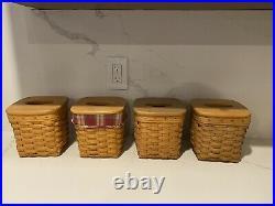 Longaberger Tall Tissue Basket (Set Of 4)
