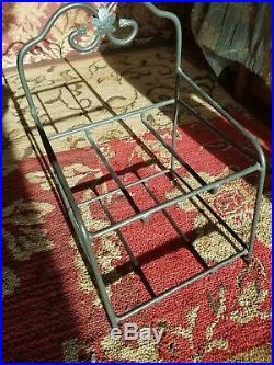 Longaberger The Little Bin basket wrought iron full set