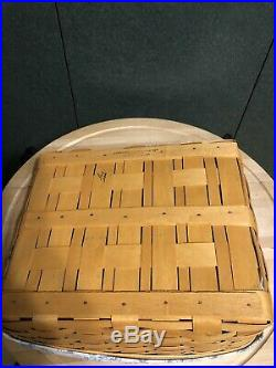 Longaberger Wrought Iron Paper Tray Stand And Tapered Basket Set Combo