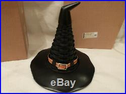 RARE RETIRED VINTAGE 2011 Longaberger Witch's Hat Basket Set In Box 11